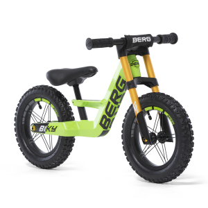Bicicletta senza pedali Balance Bike BERG Biky Cross Green