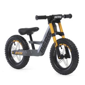 Bicicletta senza pedali Balance Bike BERG Biky Cross Grey