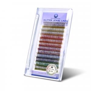 Ciglia Glitter C0,15-12 mm