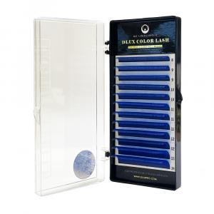 Ciglia per Extension colorate Blu Scuro CC0,07mix