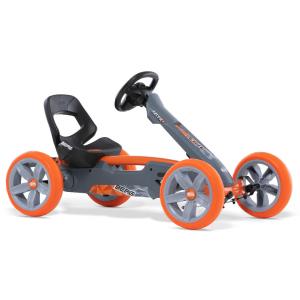 Go kart a pedali BERG Toys Reppy Racer Grigio/Arancione
