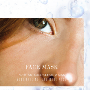 Maschera Coreana Tessuto Idratante per il Viso DLux Professional