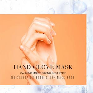 Maschera Guanti Coreani Idratanti per la Cura delle Mani, Rigenerante e Nutriente, Con Punte Ditta Staccabili