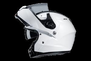 10802910 CASCO HJC MULTI&SISTEM C91 SEMI PEARL WHITE TAGLIA XL