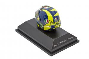 AGV Helmet Valentino Rossi Moto Gp 2018 - 1/08 Minichamps