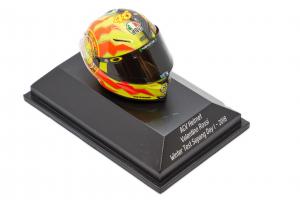 AGV Helmet Valentino Rossi Winter Test Sepang Day 1 2018 - 1/08 Minichamps