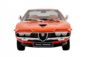 Alfa Romeo Montreal Orange Interior Beige 1970 - 1/18 KK