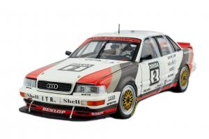Audi V8 Quattro DTM 1991 Team SMS Motorsport # 2 H. Haupt - 1/18 Minichamps