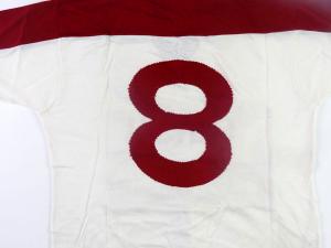 1988-89 Fano Maglia Home #8 Match worn (Top)