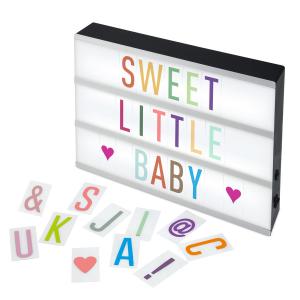 Alecto Lavagna luminosa Baby LED Light Box