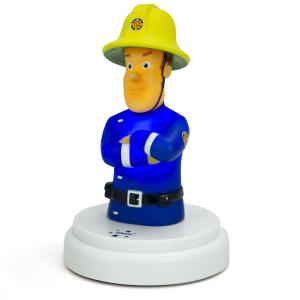 Luce notturna LED per bambini - Sam il Pompiere