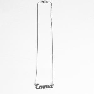 Collana con nome in argento 925