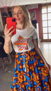 Tshirt Vicolo Stella Glitter