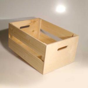 Cassetta in legno di Abete e Betulla piccola