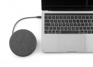AirHub hub USB-C 11 in 1 con caricatore wireless Qi