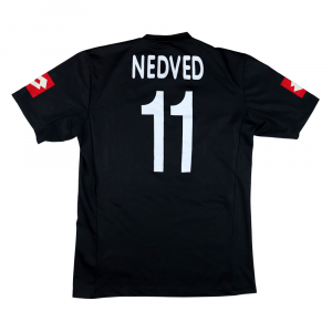 2001-02 Juventus Maglia Nedved #11 Away L (Top)