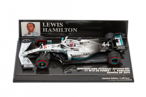 Mercedes AMG Petronas Motorsport Lewis Hamilton German Gp 2019 - 1/43 Minichamps