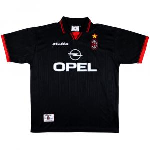 1997-98 Ac Milan Maglia Terza XL (Top)
