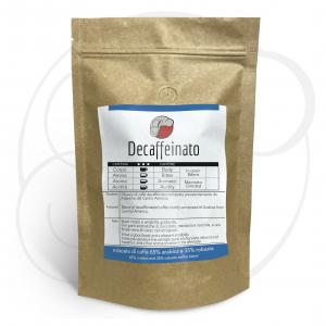 Miscela di Caffè Decaffeinato, confezioni da 250gr e 1kg