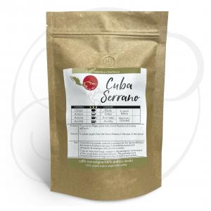 Caffè monorigine Cuba Serrano confezioni da 250gr e 1kg