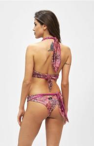 Bikini Reversibili Triangolo alto e slip brasiliano regolabile Mantra Effek