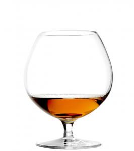 Set di 6 bicchieri da Cognac in vetro cristallino Milano CL 58,5