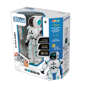 Robot a comandi Robbie Bot Blue Rocket XTREM BOTS