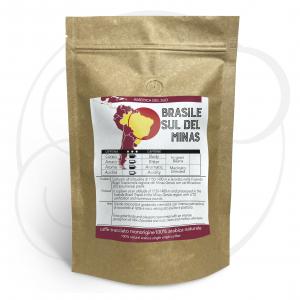 Caffè monorigine Brasile Sul de Minas confezioni da 250gr e 1 kg