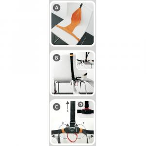 Seggiolino tessile da tavolo Minichair