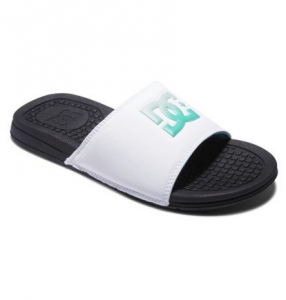 Ciabatte DC Sandals Bolsa White Green