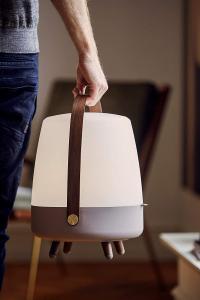 Lampada da tavolo portatile bluetooth, Kooduu Lite-up Play