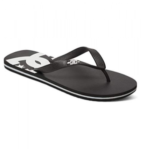 Ciabatte DC Sandals Black White