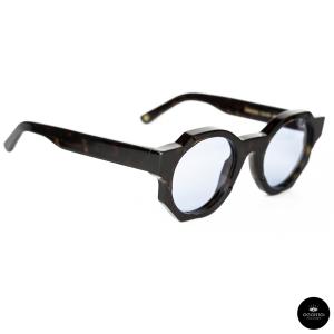 OPHY eyewear , GROOVE black / gradient blue lenses