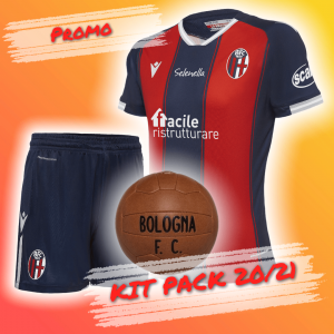 KIT PACK HOME 2020/21 (Ragazzo) Bologna Fc
