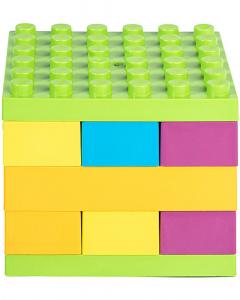 Costruzioni in bioplastica eKubo - 19 pezzi