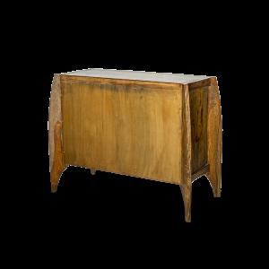 Credenza bassa con 2 ante in legno di palissandro indiano