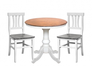 Tavolino rotondo diametro 80 cm