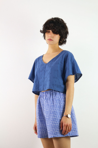 SHORTS GIAPPO BLUE