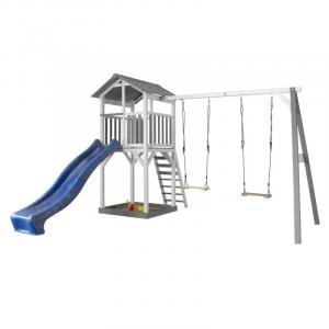 Beach Tower Double Swing per Bambini con altalena doppia