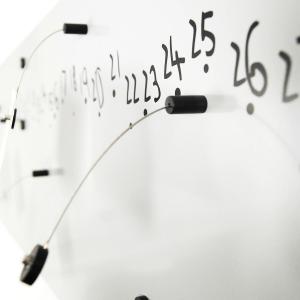 Calendario e organizer decorativo da muro Krok2 bianco 100x30 cm