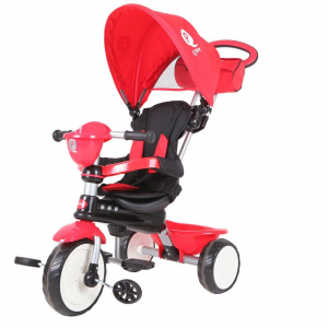 Triciclo QPlay Comfort Rosso
