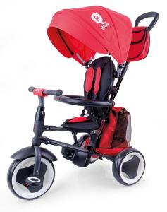 Triciclo Pieghevole QPlay Rito+ Rosso