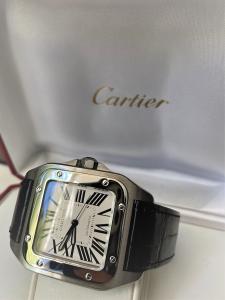 Orologio secondo polso Cartier Santos 100XL