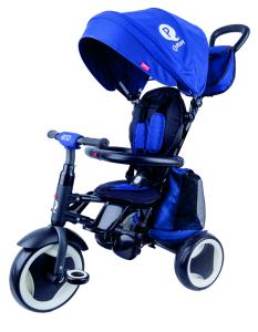 Triciclo Pieghevole QPlay Rito+ Blu