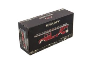 Magirus S6500 Aerial Ladder Red White 1955 - 1/43 Minichamps