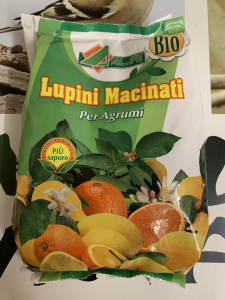 LUPINI MACINATI Bio 1kg