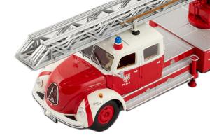 Magirus-deutz S 6500 Drehleiter DL30 Feuerwehr Frankfurt - 1/43 Minichamps
