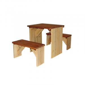 Tavolino da picnic ZidZed Axi Playhouse
