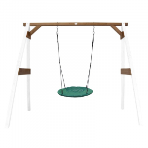 Altalena per bambini Summer Nest Axi Playhouse White/brown