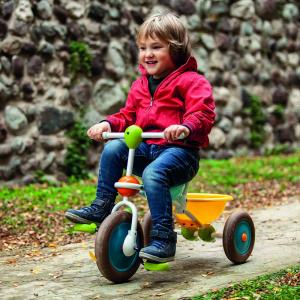 Triciclo con vaschetta Abc - 1-3 anni